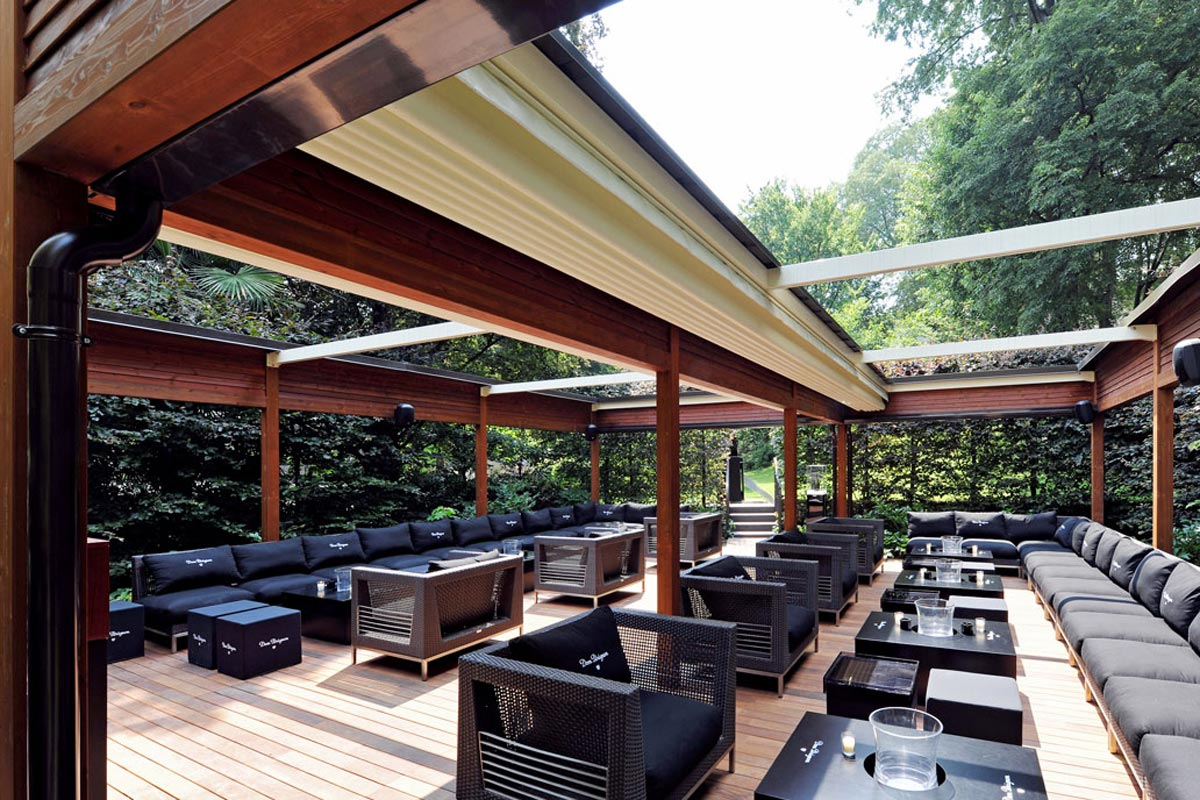 Seattle Modular Wood Patio Covers | Pure Tech Window Fashion on Backyard Patio Cover  id=51016